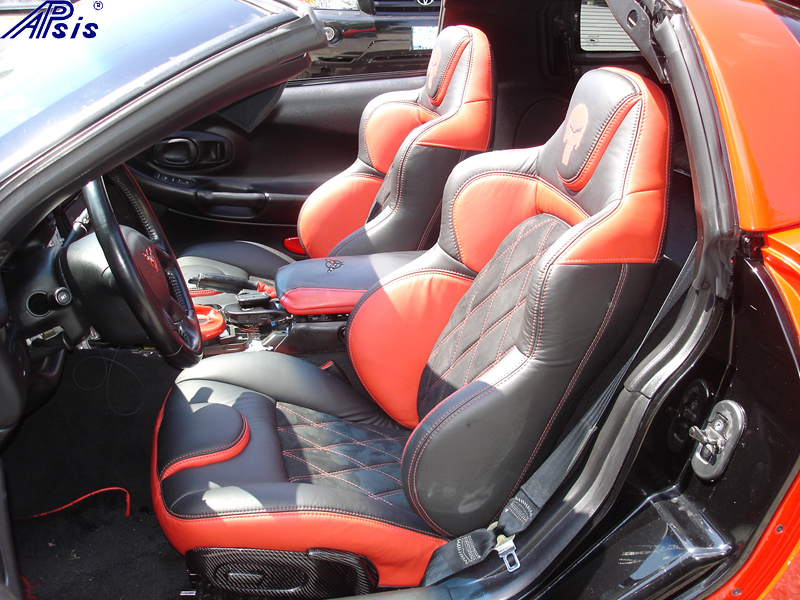 C5 UltraDeluxe Seat EB+TR+AL w-double diamond stitching-installed-driver-1