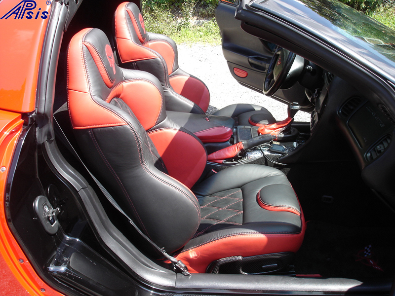 C5 UltraDeluxe Seat EB+TR+AL w-double diamond stitching-installed-pass-3a no flash