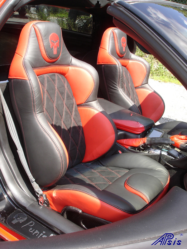 C5 UltraDeluxe Seat EB+TR+AL w-double diamond stitching-installed-pass-4