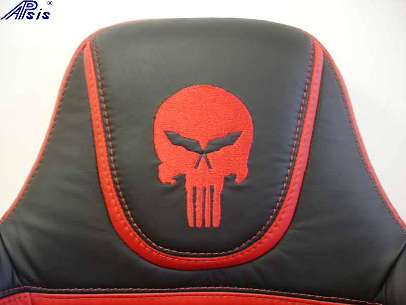 C5 UltraDeluxe Seat-EB+TR-close shot-show punisher logol-1
