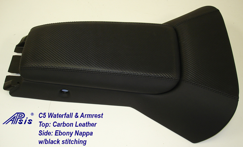 C5 Waterfall+Armrest-carbon leather & nappa-full view-1