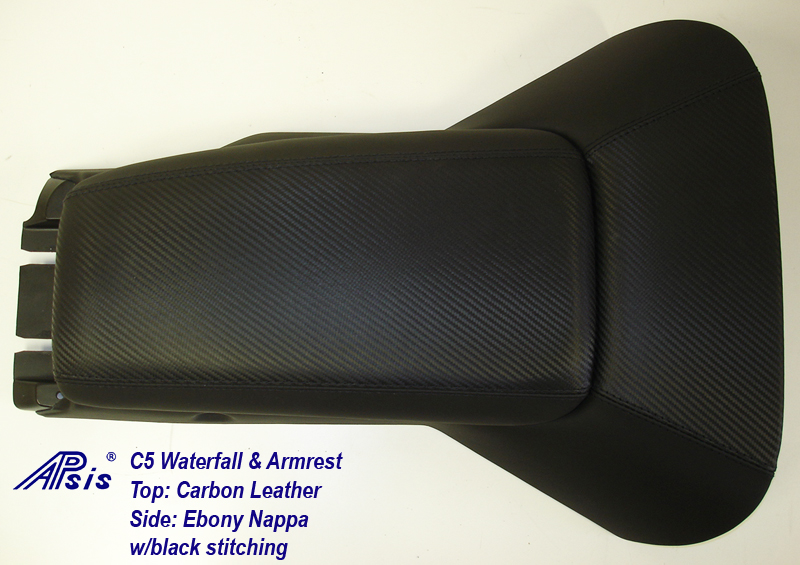 C5 Waterfall+Armrest-carbon leather & nappa-full view-2