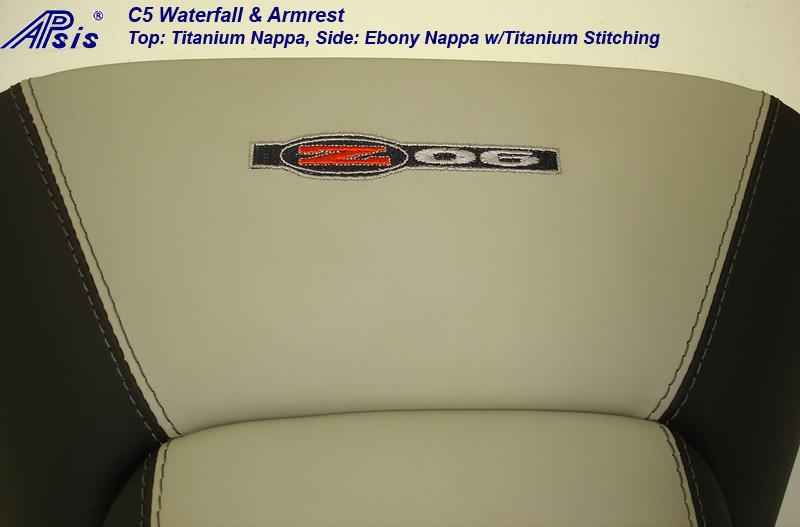 C5 Waterfall & Armrest-ebony+titanium-close shot-4