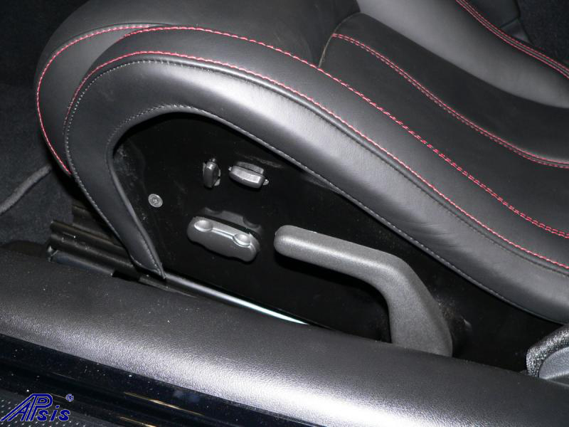 C5 Whole Interior-ebony w-red stitching from walter price-17
