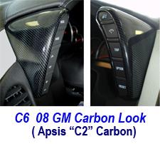 C6 08 GM Carbon Look
