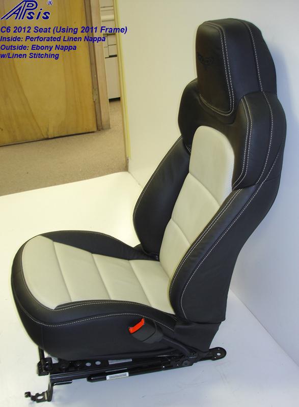C6 2012 Seat-ebony+linen-pass-side view-3-best