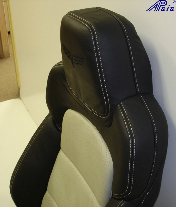 C6 2012 Seat-ebony+linen-upper only-side view-1