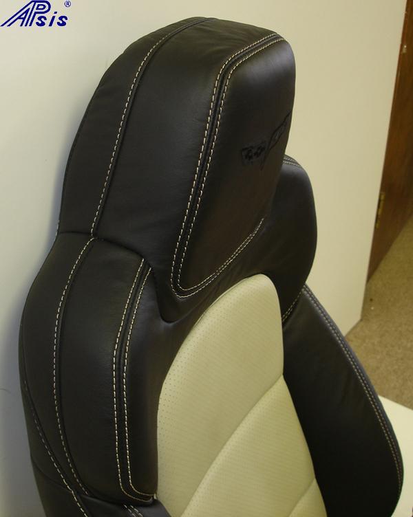 C6 2012 Seat-ebony+linen-upper only-side view-2