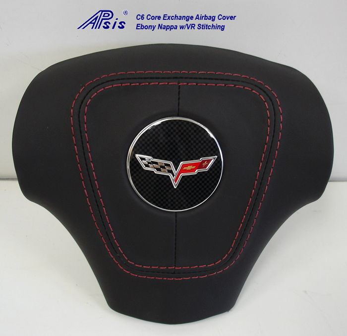 C6 Airbag Cover-core exchange-EB w-vr stitching-2