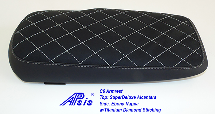 C6 Armrest-EB+SA w-diamond titanium stitching-3
