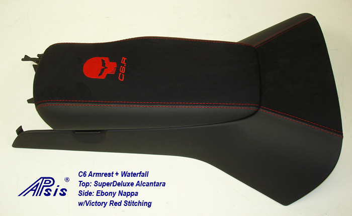 C6 Armrest+Waterfall-SA+EB w-red jake+c6r-1