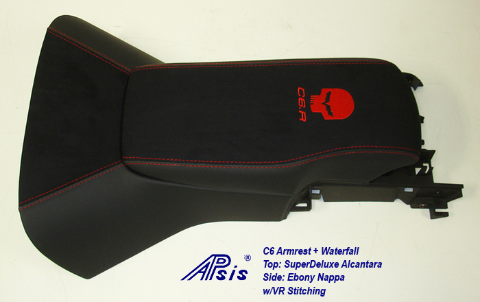 C6 Armrest+Waterfall-SA+EB w-red jake+c6r-2a