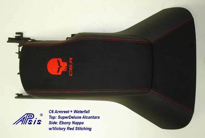 C6 Armrest+Waterfall-SA+EB w-red jake+c6r-3