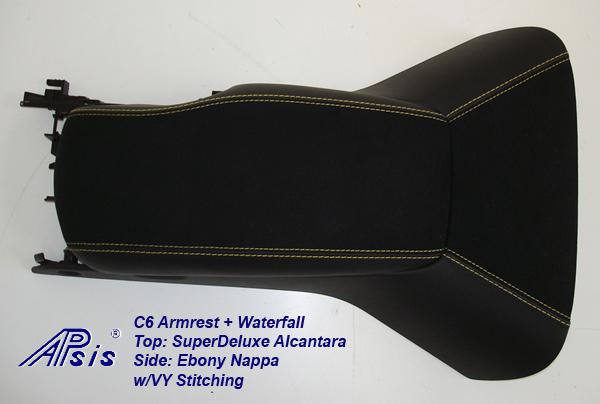 C6 Armrest+Waterfall-SA+EB w-vy stitching-individual-1
