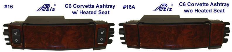 C6 Ashtray -Burlwood - 792