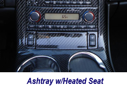 C6 Ashtray w-heated seat-1 250
