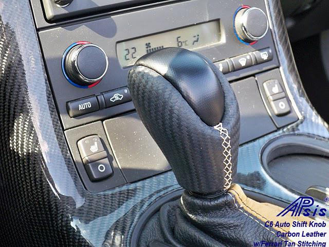 C6 Auto SK-carbon leather w-ferrari tan stitching-1