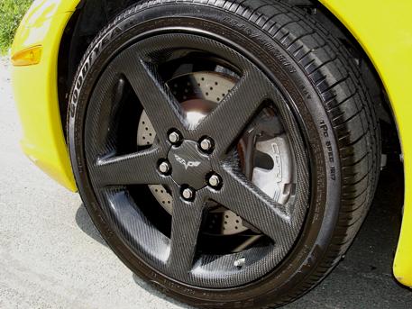 C6 Black CF-RIM-DF-rear view-flash-1