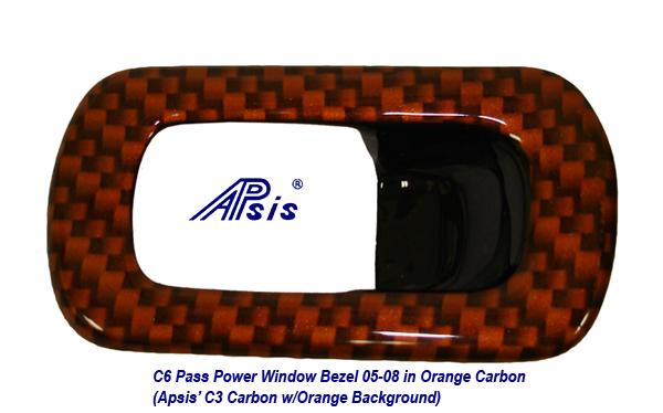C6 C1 Carbon w-Atomic Orange-Pass Power Window Bezel-1-done-950x592