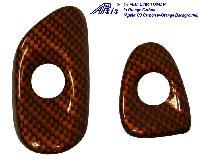 C6 C1 Carbon w-Atomic Orange-Push Button Door Opener-1-done-950x775