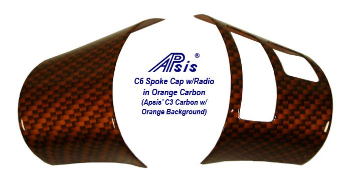 C6 C1 Carbon w-Atomic Orange-Spoke Cap w-Radio Control-individual-1