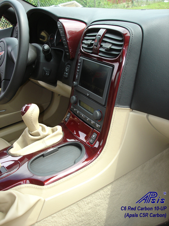 C6 C5R CF whole interior-installed-show center console-3-pass view