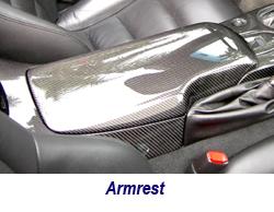 C6 CF Armrest 250