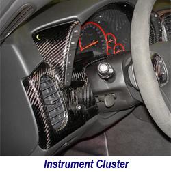 C6 CF Instrument Cluster 250