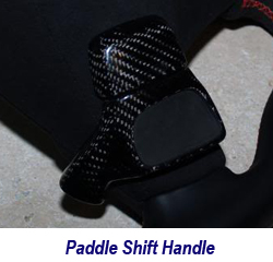 C6 CF Paddle Shift Handle 250