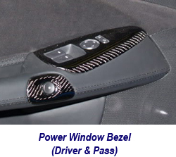 C6 CF Power Window Bezel-1 250