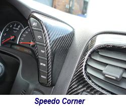 C6 CF Speedo Corner 250