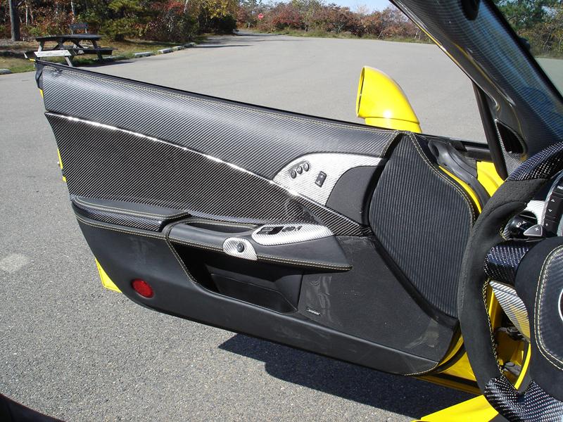 C6 Carbon Door Panel-installed-driver-10
