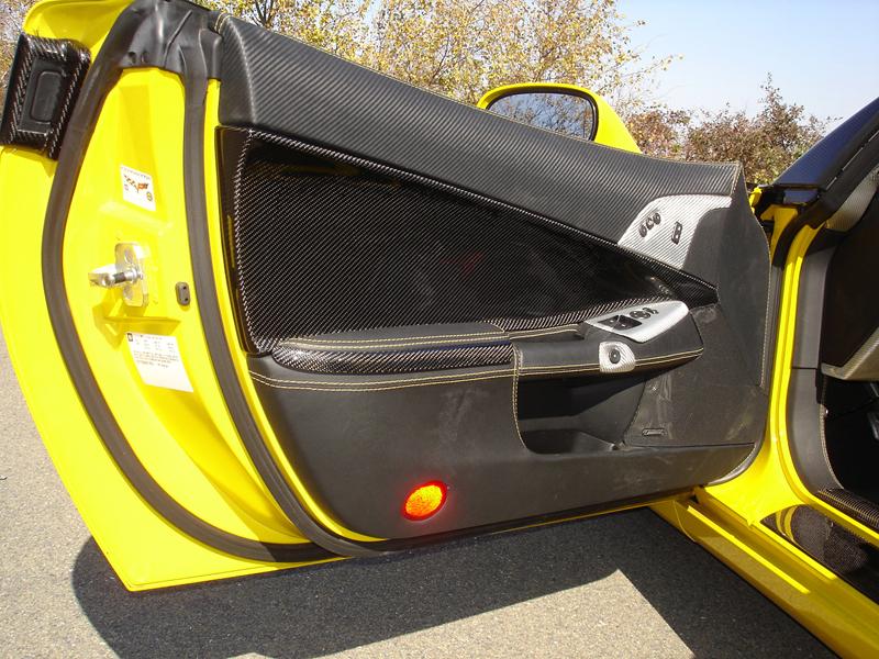 C6 Carbon Door Panel-installed-driver-3-excellent