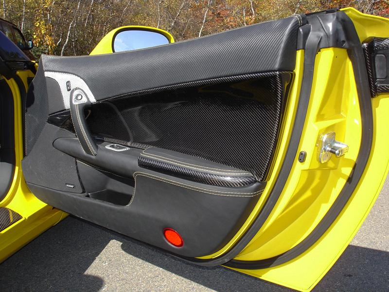 C6 Carbon Door Panel-installed-pass-6-good
