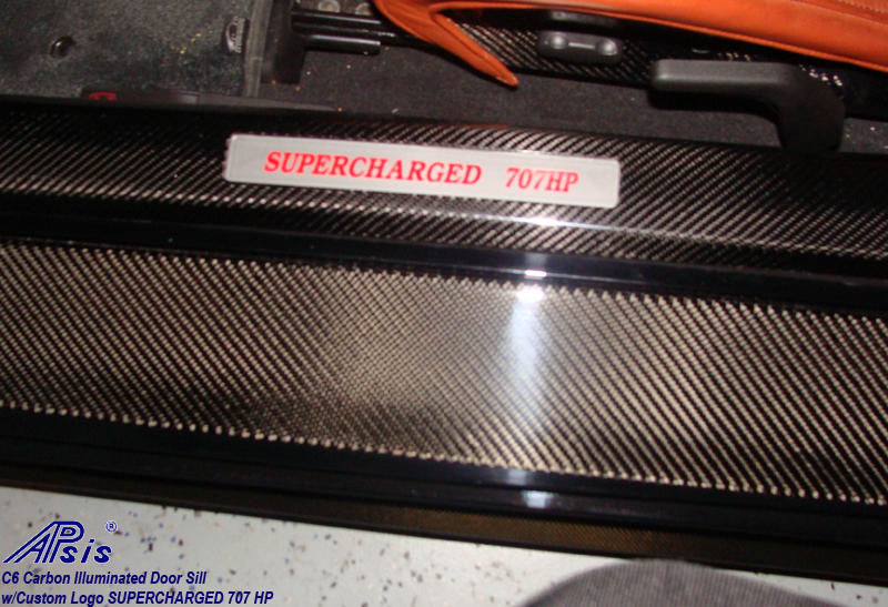 C6 Carbon Door Sill w-supercharged 707 hp-1