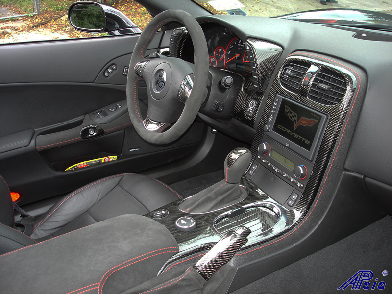 C6 Carbon Interior Pkg installed on centennial c6-1