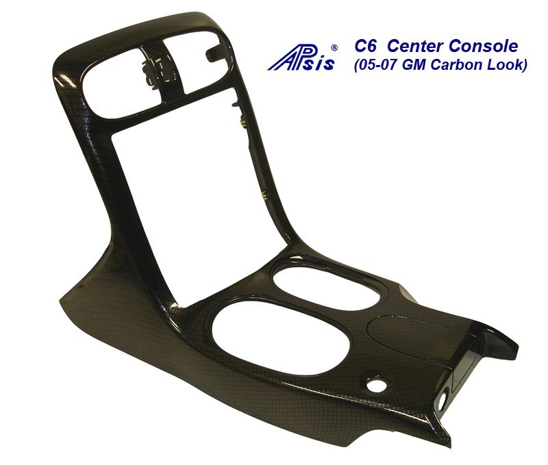 C6 Carbon Look-Center Console-C1 GM 05-07 carbon-800
