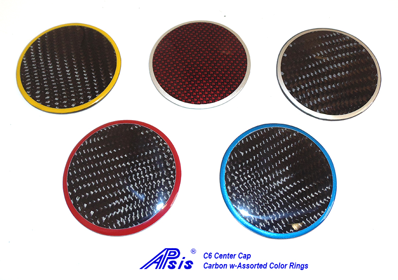 C6 Center Cap-Plain CF w-assorted ring-group-1