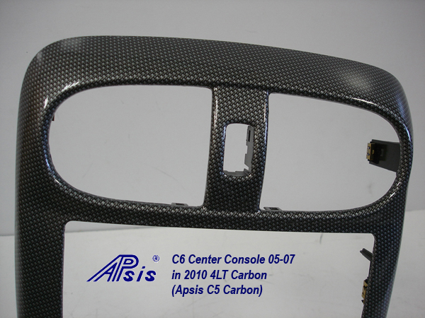 C6 Center Console-C5 carbon-close shot-5-top