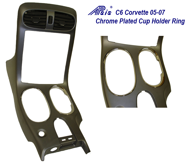 C6 Chrome Plated Cup Holder Ring 05-07-800