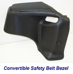 C6 Convertible Safety Belt Bezel-1 250