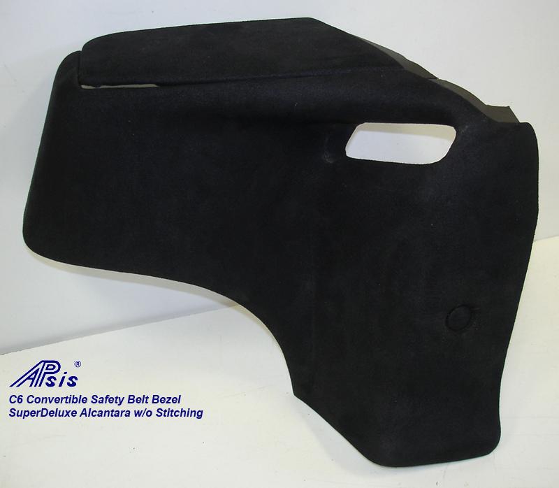 C6 Convertible Safety Belt Bezel-SA-3