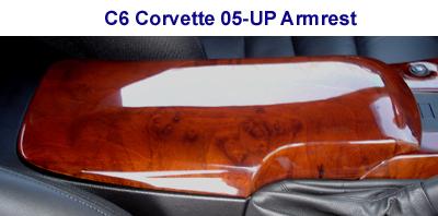 C6 Corvette-Burlwood-Armrest - 400