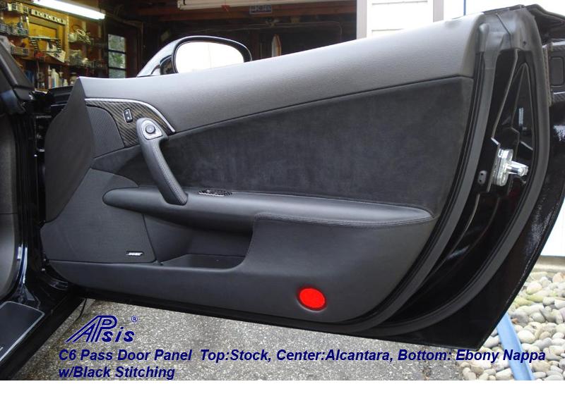 C6 Door Panel-PF-alcantara at center + ebony at bottom-1