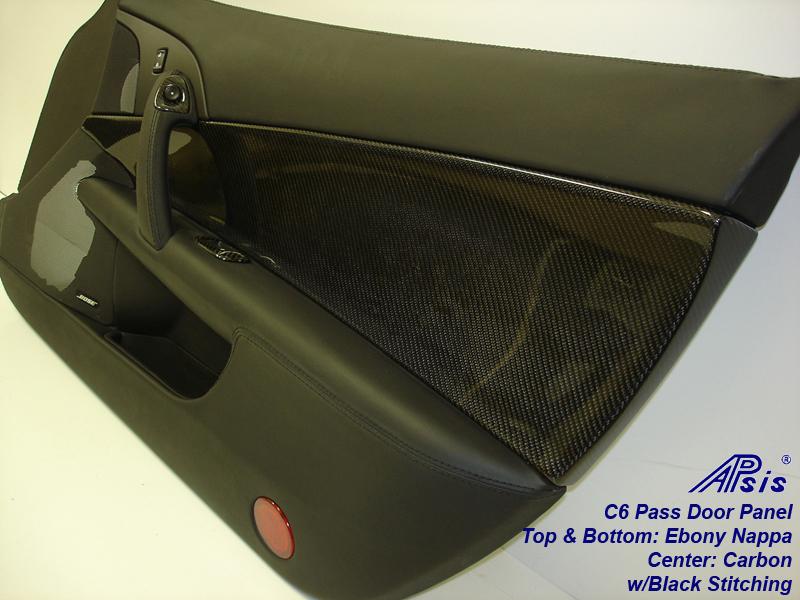 C6 Door Panel-carbon+nappa-PF w-handle-close shot-2