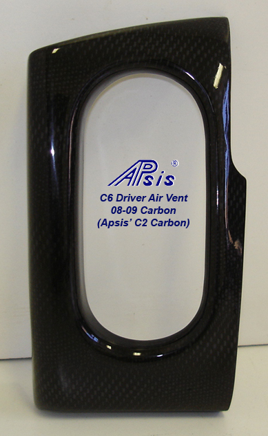 C6 Driver Air Vent-C2 CF-individual-1