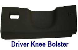 C6 Driver Knee Bolster 250