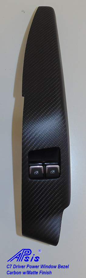 C6 Driver Power Window Bezel-matte finish-invidual-3