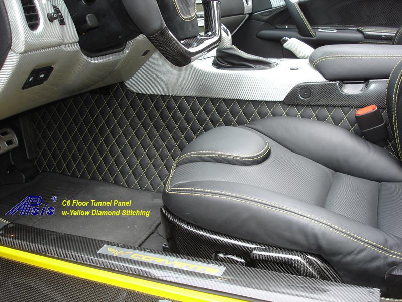 C6 Floor Tunnel Panel-installed w-ultradeluxe seat-driver-1-flash