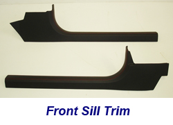 C6 Front Sill-EB w-vr stitching-3 pair 250